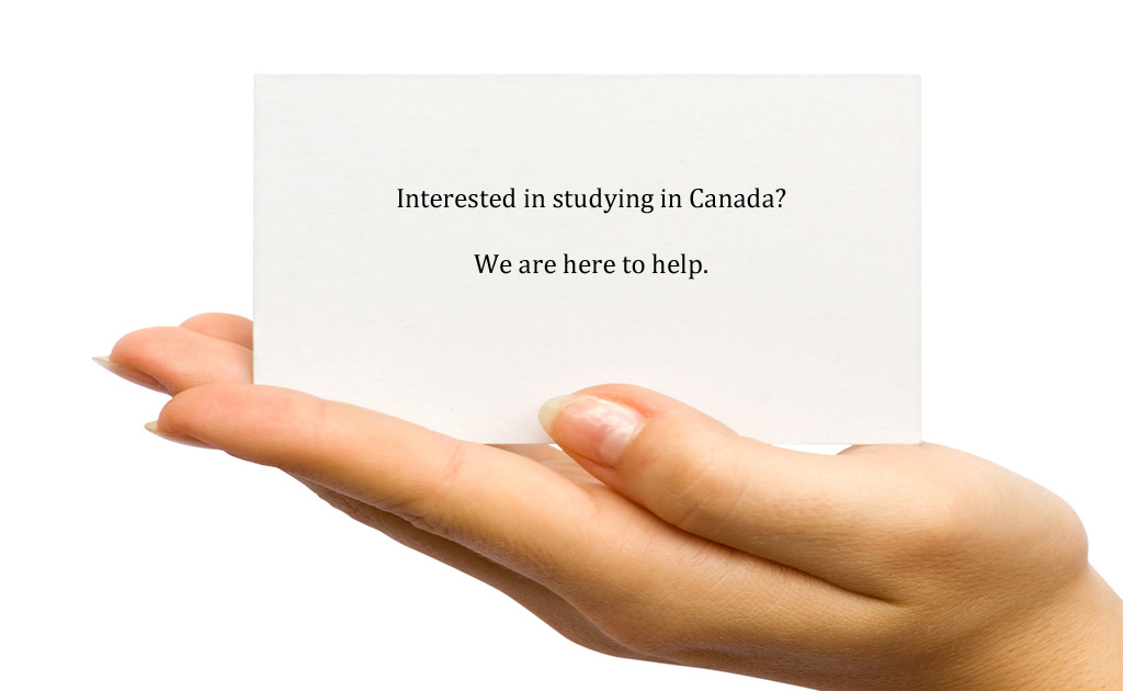 interested in studying in Canada?